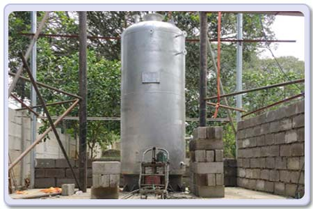 vertical coal boiler