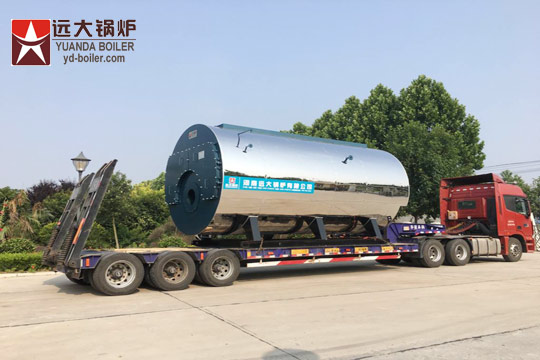 8 ton steam boiler
