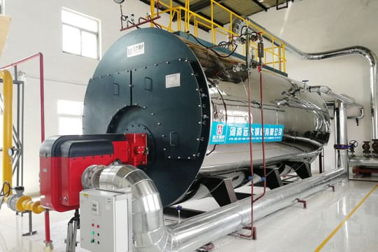 10 TPH Natural Gas Fired Boiler
