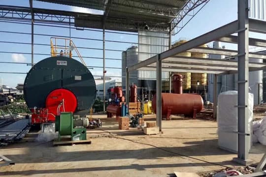 15 Ton Fire Tube Boilers Gas Fuel Fired Steam Boiler