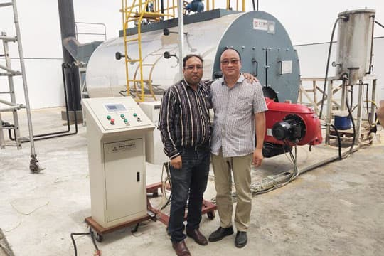 4TPH Diesel Fired Steam Boiler