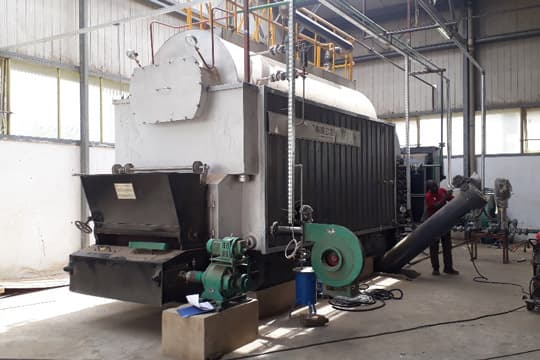 4 Ton Chain Grate Biomass Steam Boiler