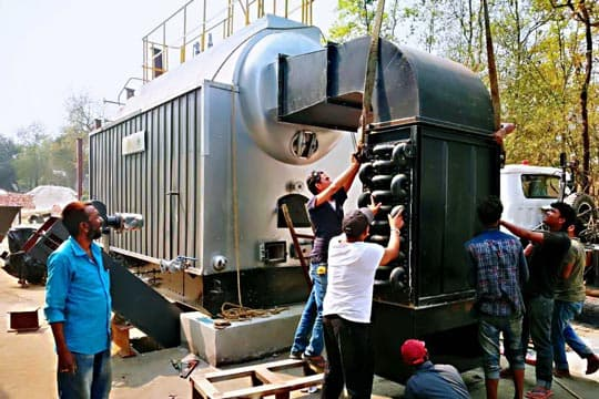 4ton steam boiler