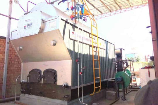 DZH 4Ton Manual Feeding Coal Fired Steam Boiler