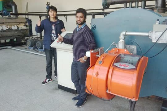 700kw Gas Fired Thermal Oil Boiler Project