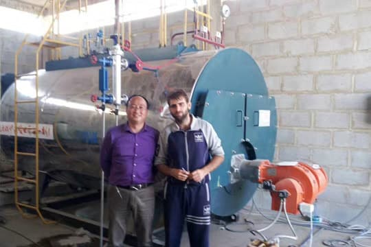 Low Pressure 2 Ton Heavy Oil Fired Boiler