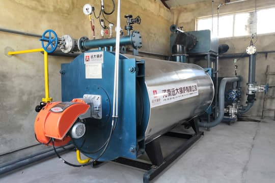Gas Fired Thermal Oil Heater 700kw