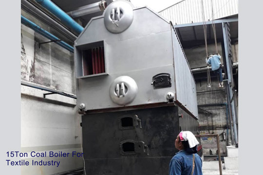 15ton coal fired boiler