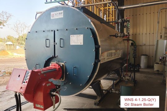 4ton oil fired boiler