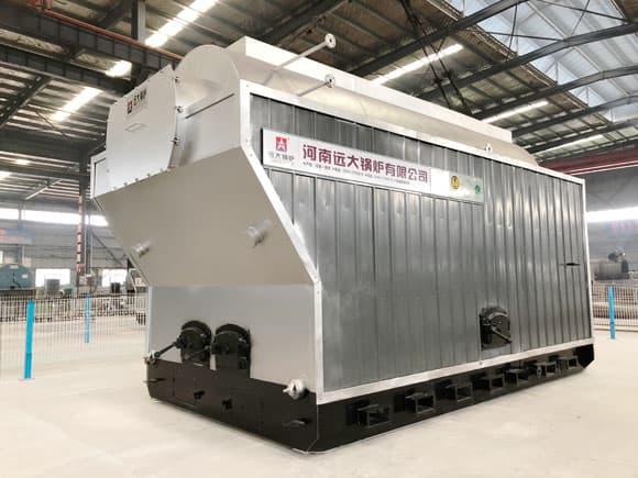Rice husk fired boiler, Palm shells fired boiler