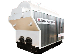 DZH chain grate boiler, coal steam boiler, manual coal wood boiler