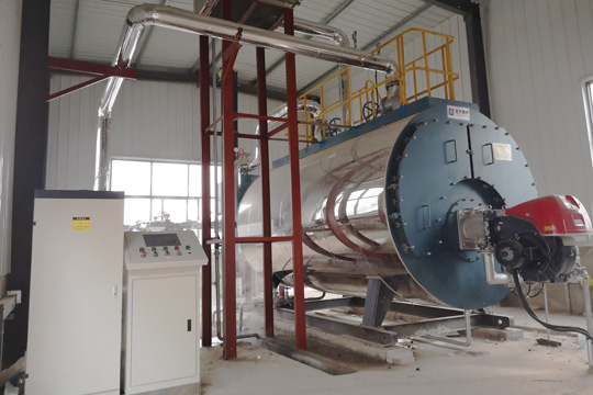 Fire Tube Boiler 2.8MW Gas Fired Hot Water Boiler