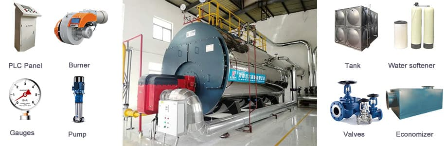 LPG Boiler, gas fired steam boiler, gas oil boiler