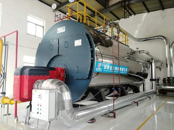 industrial gas boiler, gas steam boiler