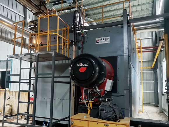 15ton gas oil boiler