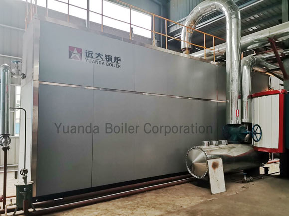 15ton water tube gas oil boiler