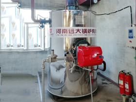 Vertical Type Gas/Diesel Boiler