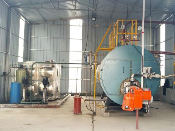 WNS Gas/oil burning fire tube boiler, Steam boiler