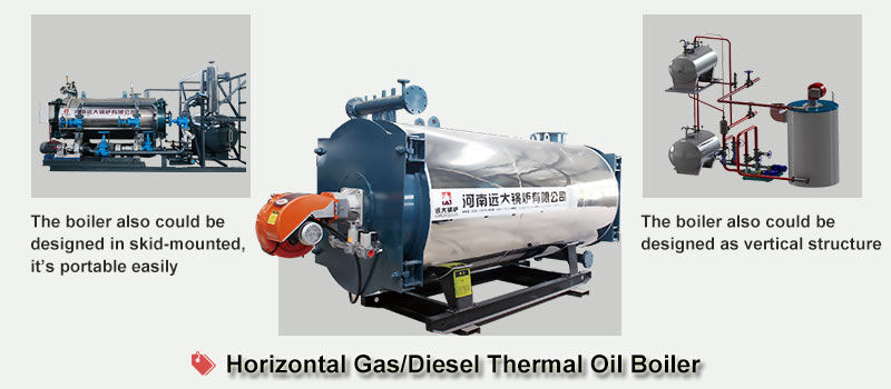 diesel thermal oil heater boiler